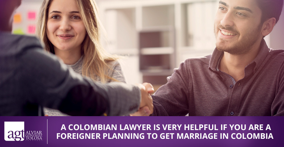 A Couple Marriage in Colombia