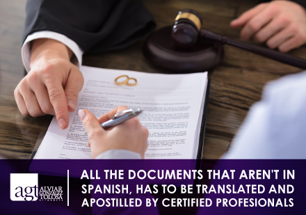 Signing a Marriage Document With an Attorney