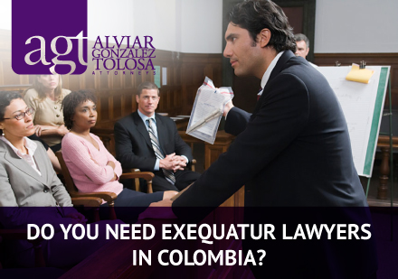 Exequatur Lawyers in Colombia